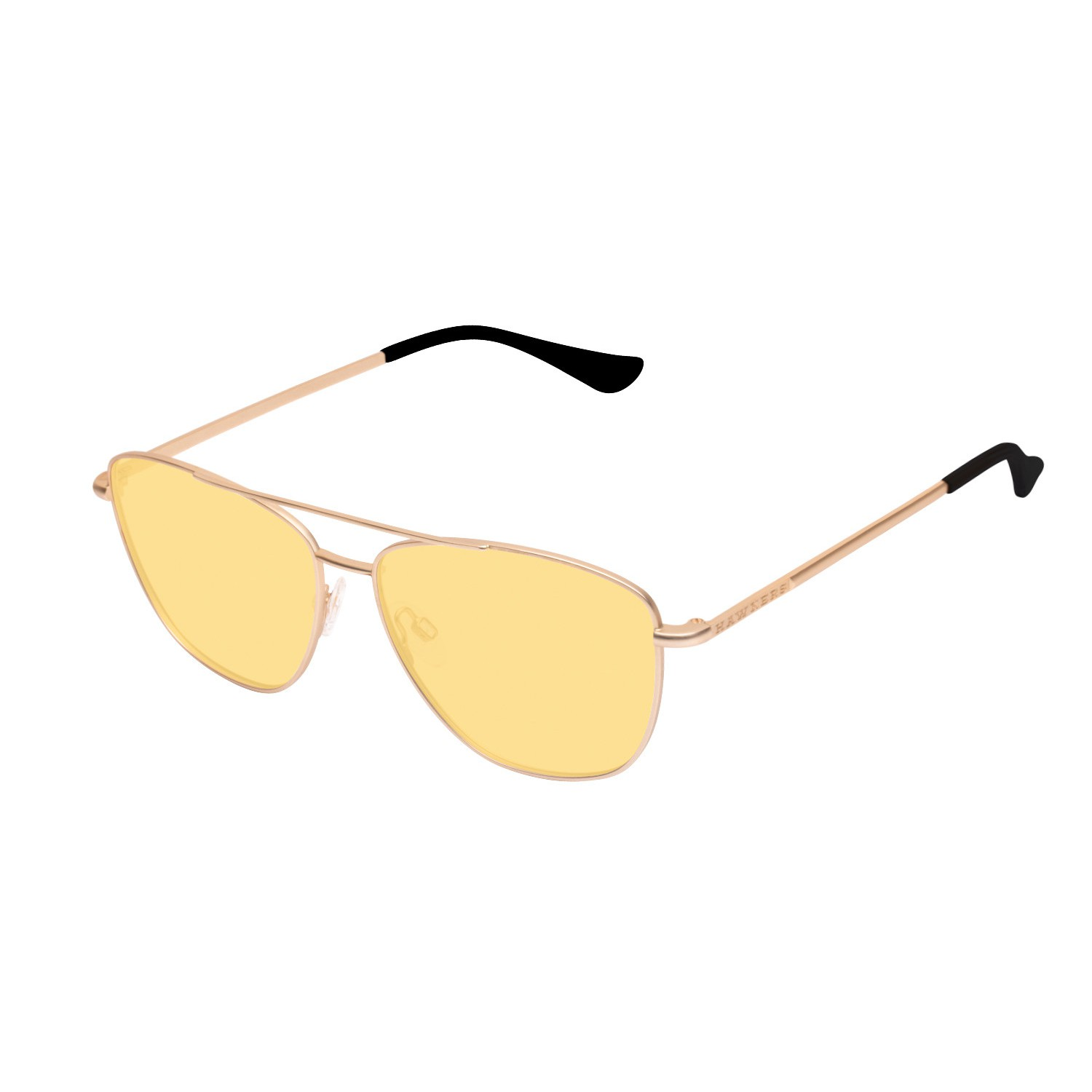 Image For Hawkers Sonnenbrille Gold  Yellow La linse
