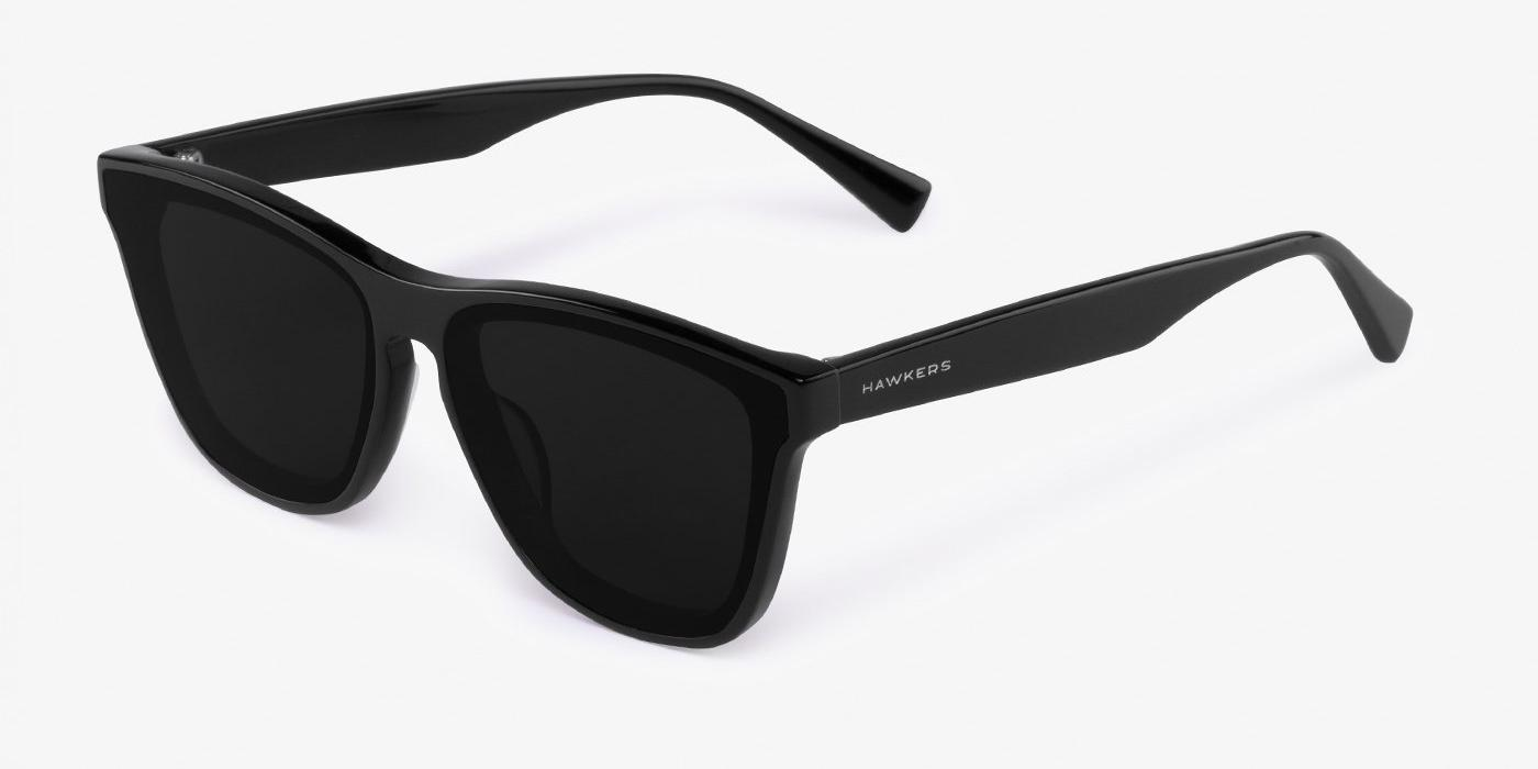 Occhiali da sole Hawkers Black Dark One Downtown, lente nere