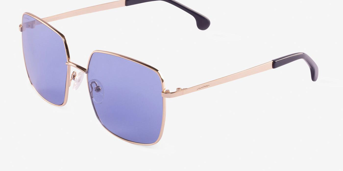 Gafas de sol Hawkers BLONDE SHINE BLUE NIGHT con lente azul
